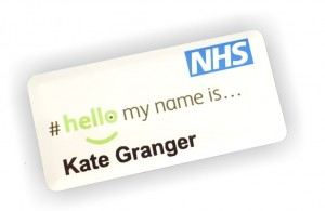 NHS Name tags