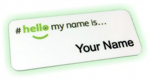 NHS Hospital Name Badges