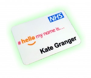 Kate Granger Name Badges