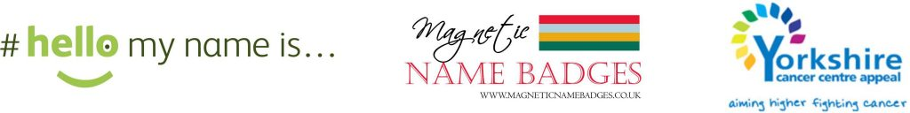 magnetic name badges donation to YCC
