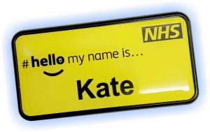 NHS Badges Patient Friendly